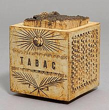 ROGER CAPRON(1922 - 2006)TOBACCO BOX, ca. 1960 for