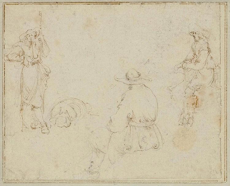 BELLA, STEFANO DELLA(1610 Florence 1664)3 sheets: