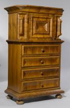 WALNUT CABINET, so-called