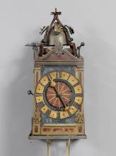 ONE-HANDED IRON CLOCK WITH ALARM,