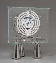 ATMOS CLOCK WITH MOON PHASE, MONTH AND YEAR DISPLAY,