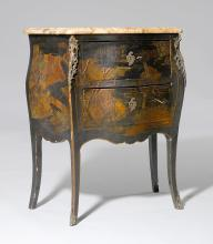 LACQUERED COMMODE,