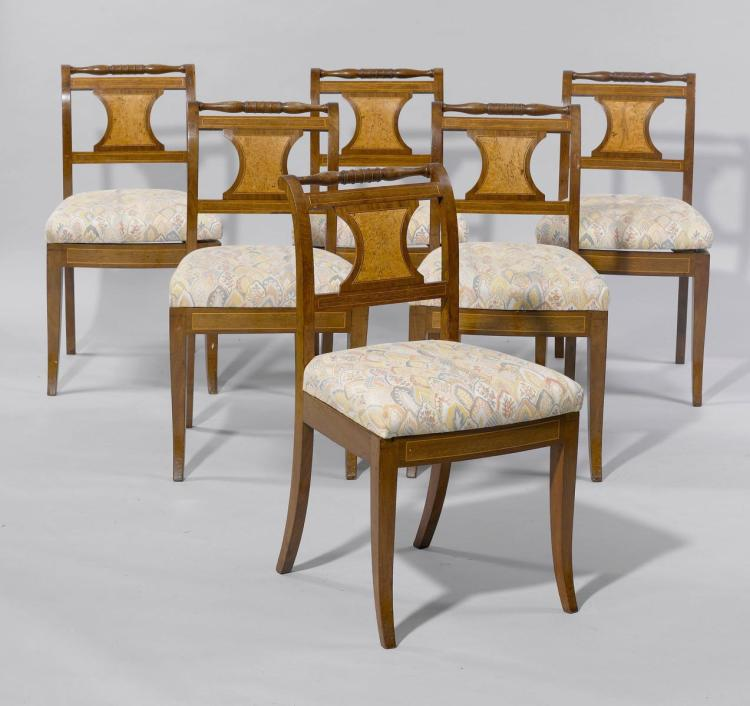 Set of 11 dining room chairs for Dining room furniture auctions