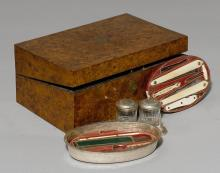 TRAVEL WRITING SET AND NECESSAIRE,