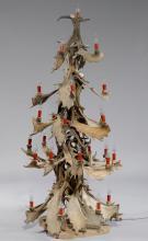 CHRISTMAS TREE OF FALLOW DEER ANTLERS,