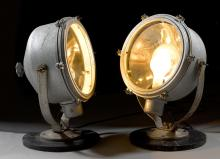 PAIR OF SEARCHLIGHTS