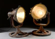PAIR OF SEARCHLIGHTS.