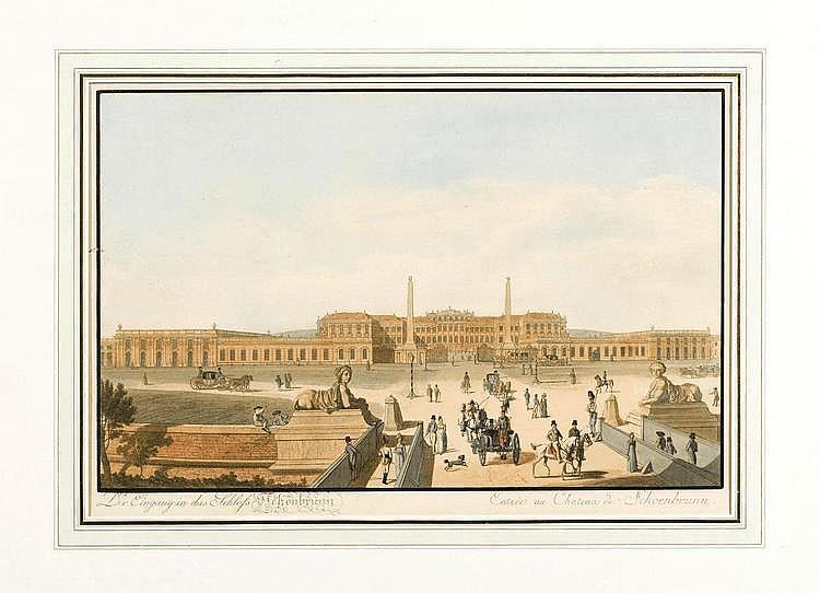 VIENNA.-Johann Ziegler (1750-1812) (?). Der