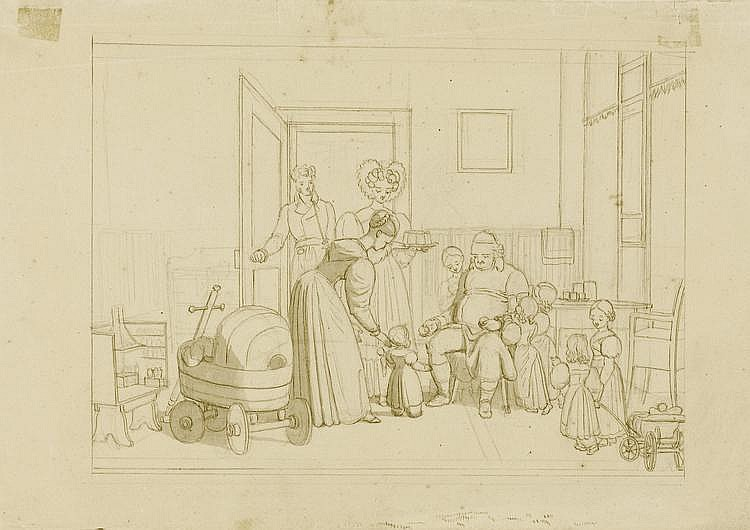 VOLTZ, JOHANN MICHAEL (1784 Nördlingen 1858). Der