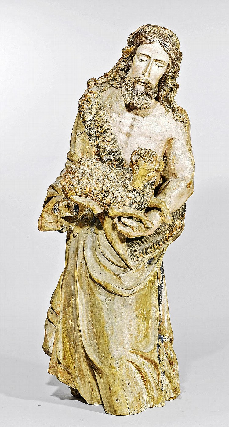 JOHN THE BAPTIST,Baroque, mid 17th century,