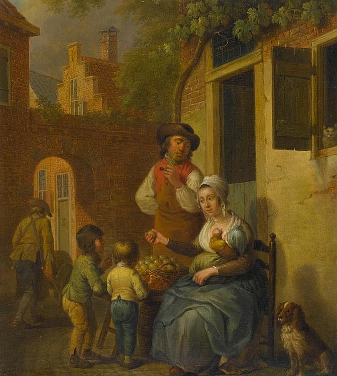 CUYLENBURGH, CORNELIS VAN(1758 Utrecht 1827)Family