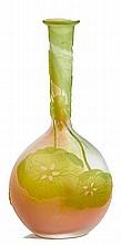 EMILE GALLEVASE, c. 1904White glass overlaid in