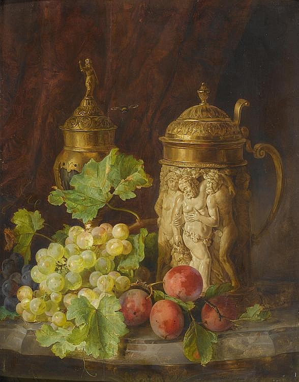 LACH, ANDREAS(1817 Vienna 1882)Still life with