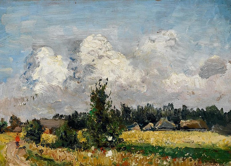 BREITENSTEIN, CARL AUGUST(Amsterdam 1864 - 1921