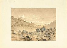 ZÜND, ROBERT(1826 Lucerne 1909)Landscape with