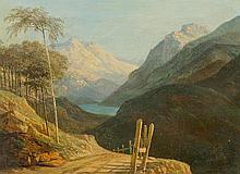 TÖPFFER, RODOLPHE(1799 Geneva 1846)Broad mountain