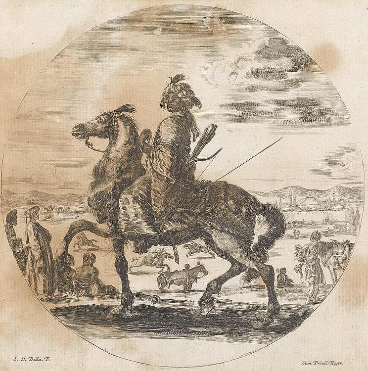 BELLA, STEFANO DELLA (1610 Florence