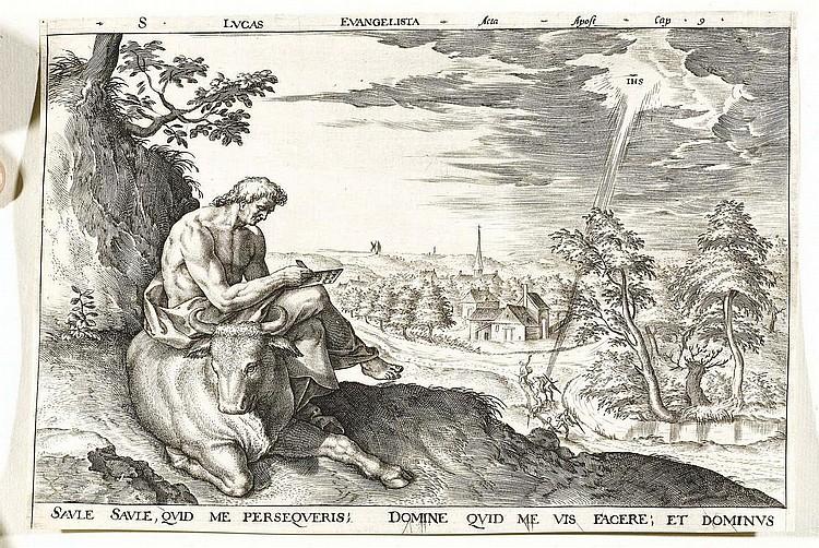 WIERIX, HIERONYMUS (circa 1553 Antwerp 1619).The