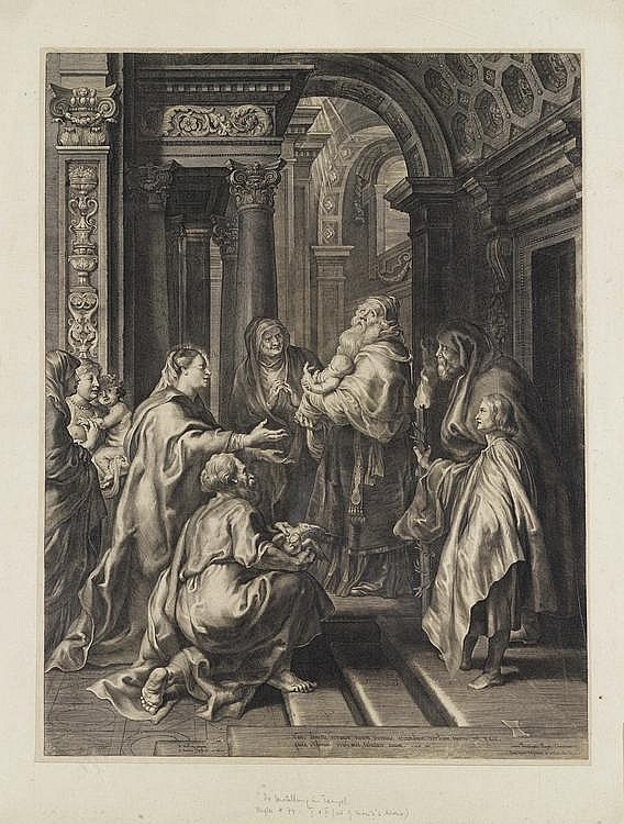 PONTIUS, PAULUS (1603 Antwerp 1658).After Peter
