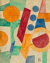 LÉGER, FERNAND(Argentan 1881 - 1951 Paris)Les