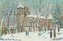 UTRILLO, MAURICE(Paris 1883 - 1955 Dax)Château de