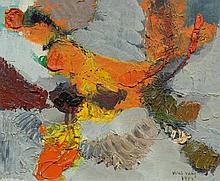 KOLOS-VARY, SIGISMOND(Banffyhunyad 1899 - 1983 La Chaux-de-Fond)Composition. 1957