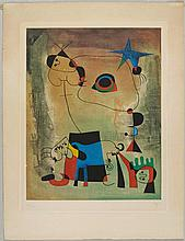 MIRÓ, JOAN AFTER(Montroig b. Barcelona 1893 - 1983