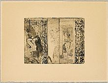 DEGAS, EDGAR(1834 Paris 1917)2 sheets.: Loges