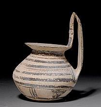 KYATHOS, Daunian, 6th-5th century B.C. Terracotta,