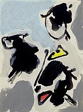 ASGER JORN1914 - 1973Untitled. 1970-71.Gouache and