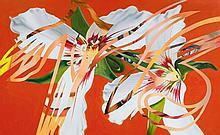 JAMES ROSENQUIST1933Sister Shrieks. 1987.Oil on