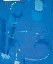MAX ACKERMANN1887 - 1975Komposition in Blau.