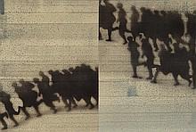 JUAN GENOVÉS1930Las Fugas. 1972.Oil on canvas.