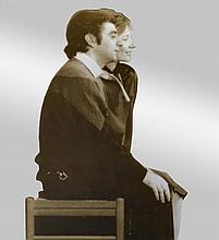 MICHELANGELO PISTOLETTO1933Rosa e Enzo. 1984.Silk