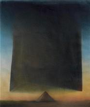 BERNARD LÜTHI1938Pyramide.Watercolour on paper.