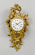 CARTEL, Louis XV-Stil, Frankreich, um 1900.Bronze