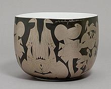 HELMUT ANDREAS PAUL GRIESHABER(1909-1981)BOWL,