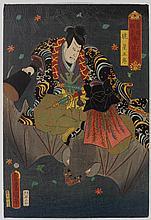 UTAGAWA KUNISADA I (TOYOKUNI III) (1786-1865).