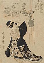 KITAGAWA UTAMARO (1750-1806).