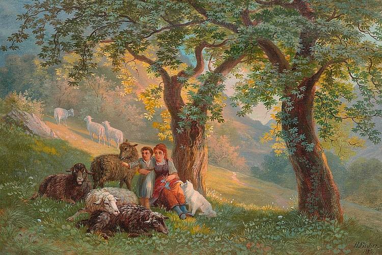 FISCHER, HEINRICH (Nänikon 1820 - 1886 Zürich)