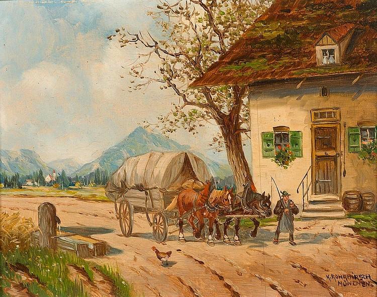 ROHRHIRSCH, KARL (München 1875 - 1954 Greding)