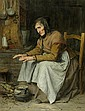 ANKER, ALBERT (1831 Ins 1910) Hohes Alter II (alte