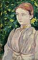 BERNARD, EMILE (Lille 1868 - 1941 Paris) Bildnis