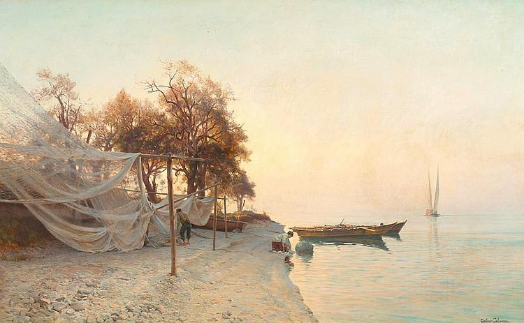 CALAME, JEAN BAPTISTE ARTHUR (1843 Genf 1919)