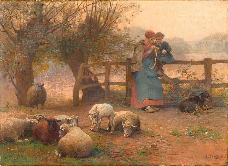 CHIALIVA, LUIGI (Caslano (Tessin) 1841 - 1914