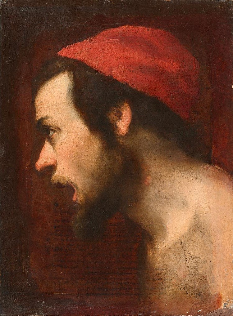 FALCONE, ANIELLO (1607 Neapel nach 1656) Ölskizze: