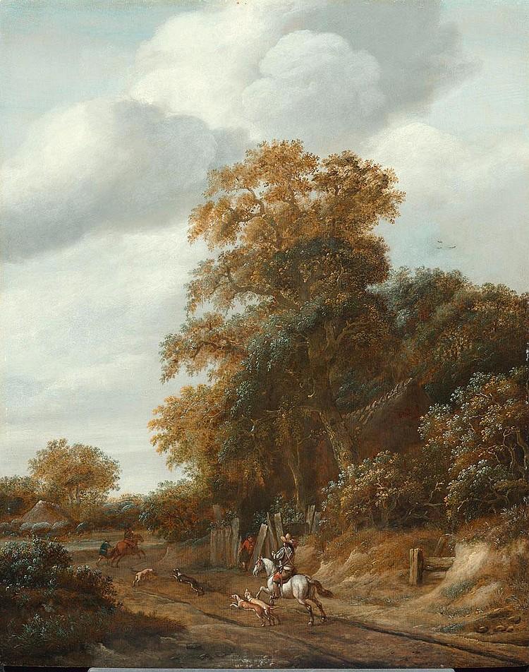 DECKER, CORNELIS GERRITSZ. (um 1620 Haarlem 1678)