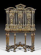 LACQUER CABINET ON A BASE, Renaissance, Naples ca.