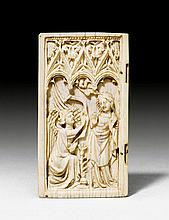 WING OF DIPTYCHON DEPICTING THE ANNUNCIATION TO
