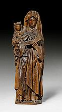 VIRGIN AND CHILD WITH SAINT ANNE, late Gothic,